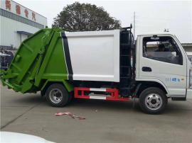 东风福瑞卡压缩式垃圾车(6-8立方)