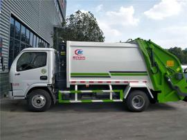 3吨压缩垃圾车 东风多利卡压缩垃圾车 后装压缩垃圾车报价