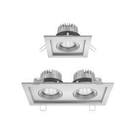 欧普嵌入式LED格栅射灯