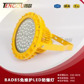 铝合金外壳壁挂式70W/264V防爆LED高效节能照明灯