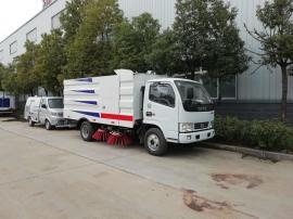 东风小多利卡5.5立方环保扫路车,道路清扫车扫地车