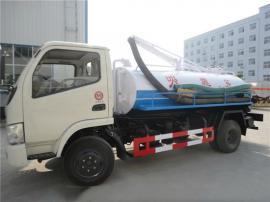 小型5吨吸污车的用途--吸粪车