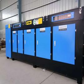 UV光氧催化废气处理设备 橡胶厂十博体育设备等离子光氧净化器