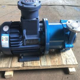 316L配防爆CT4电机磁力泵、定制型磁力泵、40CQ-32磁力泵贴牌