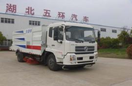 东风天锦12立方大型道路清扫车扫地车