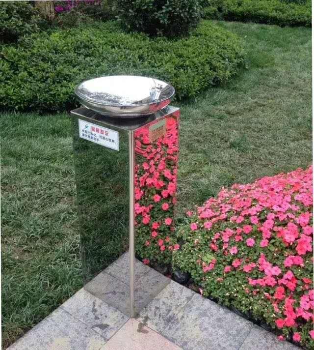 圆柱形户外直饮水台公共直饮水台景区广场户外直饮水台