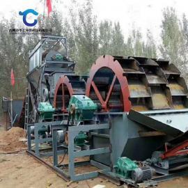 新型山砂洗砂机 环保轮斗洗砂机技术参数