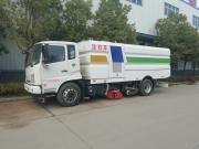 东风天锦12立方16方大型道路清扫车扫地车洗扫车