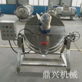 不锈钢电加热夹层锅 蒜蓉辣酱炒锅 火锅料牛肉辣椒酱熬制锅