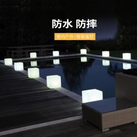 LED发光立方体 ktv夜店酒吧发光 方形 发光家具户外庭院灯