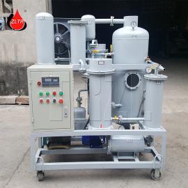 ZJD-10通瑞品牌泵车液压油脱水破乳化小型真空滤油机