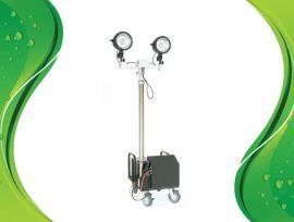 SFW6122便携式应急升降工作灯,带电瓶升降照明灯