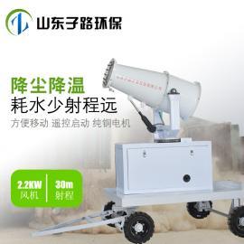 全自动喷雾降尘装置 移动式喷雾器 防尘洒水车 煤场喷淋喷枪