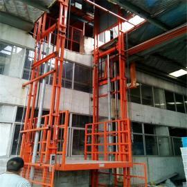 仓库楼层专用3t导轨式升降货梯-金泰