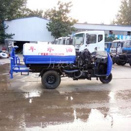 2立方小型三轮洒水车工地抑尘园林绿化喷洒车
