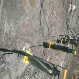 煤矿巷道隧道掘进小型手持式岩石分裂机
