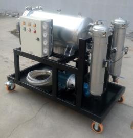 净化LYC-J400we汽轮机油不锈钢聚结滤油机