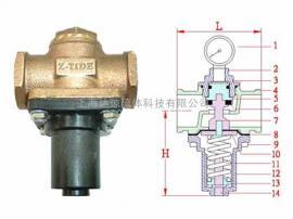 RDT-15 达琼流体代理z-tide(日泰)隔膜型直动式减压阀工厂库存