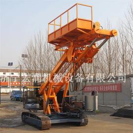 履带式锚固钻机 5米以上锚杆护坡钻机 液压锚固钻机