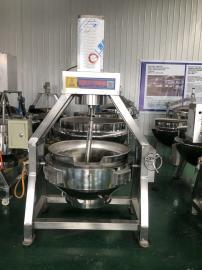 蒸汽行星炒料设备,米粉酱料夹层搅拌锅