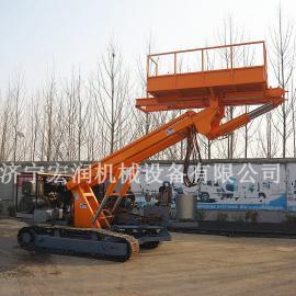 履带式行走护坡钻机 锚固工程钻机 液压锚固钻机