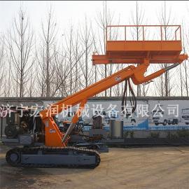护坡锚固钻机 履带式锚固钻机 升高5米以上护坡锚固钻机