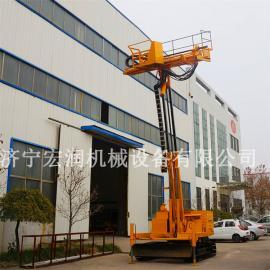履带护坡桩机 建筑工程护坡钻机 履带护坡锚固钻机