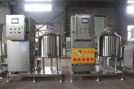 酸奶发酵罐牛奶羊奶生产线制冷杀菌奶罐
