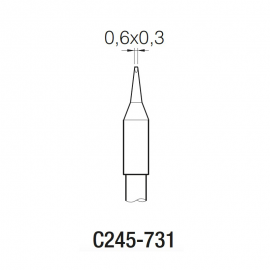 JBC烙铁头C245系列烙铁头C245-939 C245-911焊咀C245-9