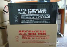 美国艾佩斯阀控式铅酸蓄电池UD200-12 12V200AH参数规格