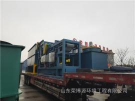 双网带式污泥压滤机 污泥处理设备报价 荣博源环保污泥压滤设备