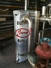 可拆卸异形保温套 板式换热器保温套
