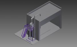天然气/沼气分布式能源电站脱硝 SCR尿素去除氮氧化物 防氨泄漏