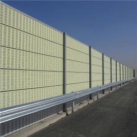 高速公路隔音板 快速路隔音屏 穿孔型 承接消音�屏障工程
