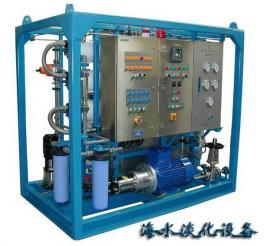 反渗透海水淡化设备组成及运行