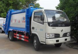 东风多利卡5立方压缩式垃圾车