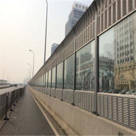 隔音屏高速公路道路声屏障城市快速路百叶声屏障高架桥隔音护栏