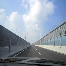 高速公路透明隔音屏 定做铝合金声屏障彩钢夹芯声屏障有施工队