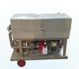 BK-F-300专供国外项目大型板框防爆滤油机,油板框压滤机