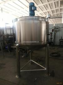 天城机械不锈钢润滑油防锈乳化油切削液双层加热混合罐天城