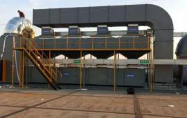 朗淳环保生产催化燃烧RTO,RCO废气处理装置