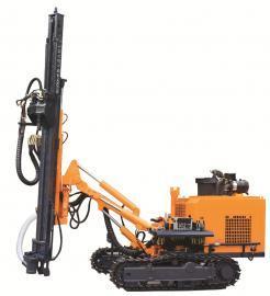 开山牌露天环保潜孔钻车 115mm孔径430H 15方空压机配套钻车