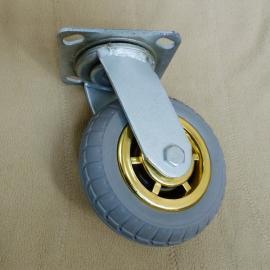 平板车万向包胶轮@永福平板车万向包胶轮@平板车万向包胶轮生产