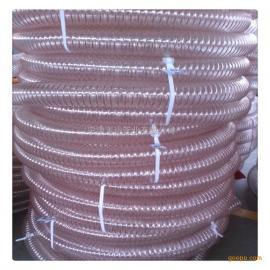 PU钢丝增强软管 动车吸污管 聚醚型聚氨酯软管