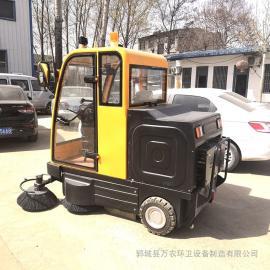 2019电动扫路车 款式多质量好厂区小型扫路车