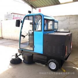 环卫电动扫路车 城市道路电动清扫车 质量好 效率高