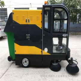 小型电动扫路车 电动小型扫路车 路面街道景区园林专用