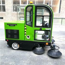 全封闭电动扫地车 纯吸式小型扫路车