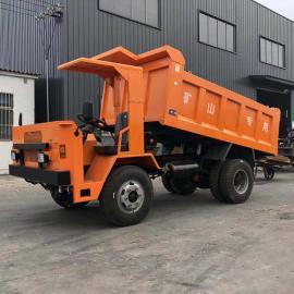 矿安认证14吨矿用四不像 铁矿用自卸运输车