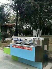 四盆不锈钢饮水平台,校园喷泉饮水台,室外直饮水机安装